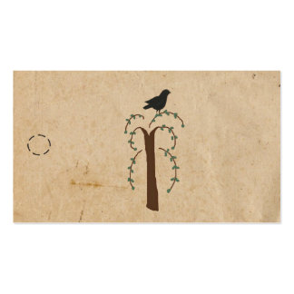 Primitive Tree Hang Tag Pack Of Standard Business Cards