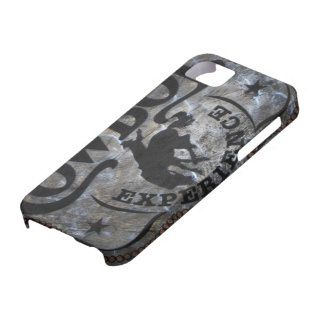 Primitive western country Horse cowboy rodeo Barely There iPhone 5 Case