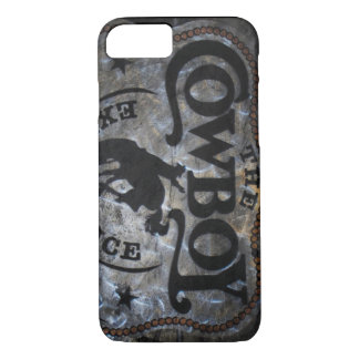 Primitive western country Horse cowboy rodeo iPhone 8/7 Case