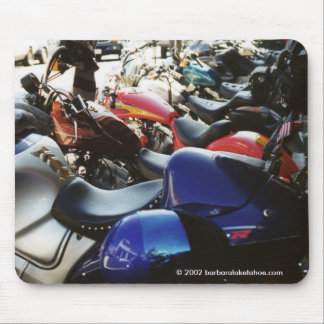 """Primo Hot Motorcycles"" MOUSEPAD"