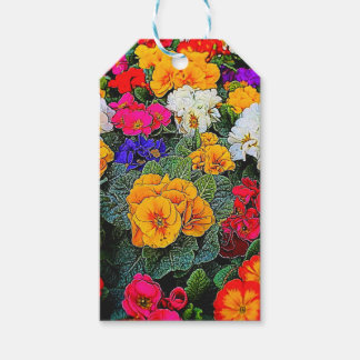 primrose in the garden gift tags