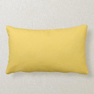 Primrose Yellow Colour Lumbar Pillow
