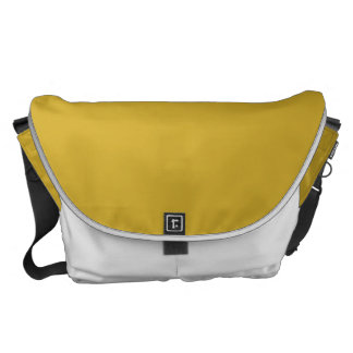 Primrose Yellow in an English Country Garden Messenger Bags
