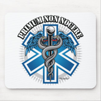PRIMUM NON NOCERE Combat Medic Mouse Pad