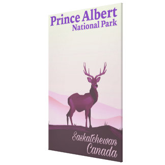 Prince Albert National Park, Saskatchewan, Canada Canvas Print
