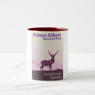 Prince Albert National Park, Saskatchewan, Canada Two-Tone Coffee Mug
