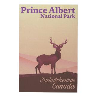 Prince Albert National Park, Saskatchewan, Canada Wood Wall Decor