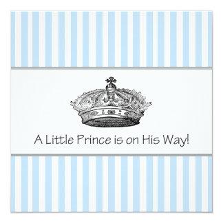 Prince Baby Boy Shower Card