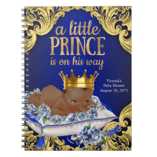 Prince Baby Shower Guest Book