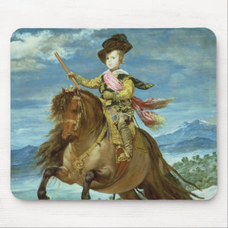 Prince Balthasar Carlos on horseback, c.1635-36 Mouse Pad