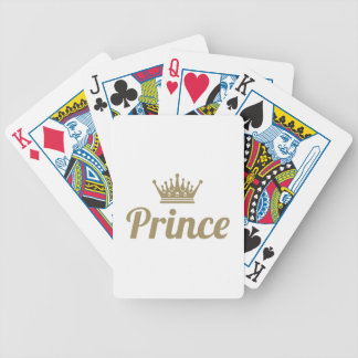Prince Bicycle Playing Cards