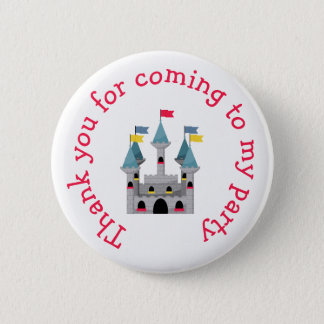 Prince Birthday Party 'Thank you for coming' 6 Cm Round Badge