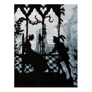 Prince Charming and Princess Postcard