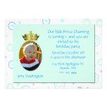 Prince Charming Birthday Party Invitation
