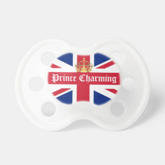 Prince charming royal baby dummy