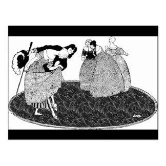 Prince Charming Vintage Cinderella Postcard