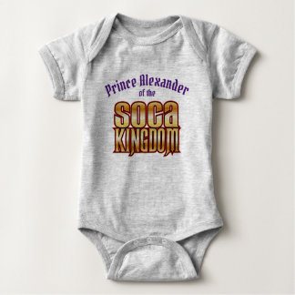 Prince (Child's Name) of the Kingdom Baby Bodysuit
