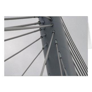 Prince Claus Bridge, Utrecht Greeting Card