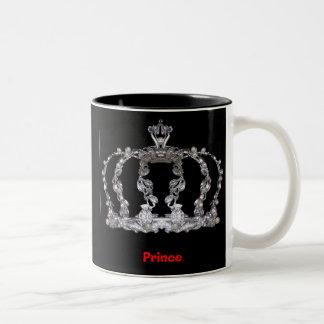 prince crown, Prince Two-Tone Coffee Mug
