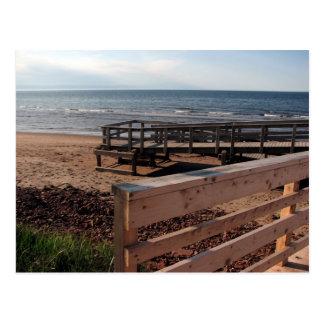 Prince Edward Island Beach Postcard