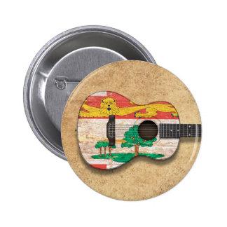 Prince Edward Island Flag Acoustic Guitar Buttons