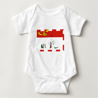 prince-edward-island-Flag Baby Bodysuit