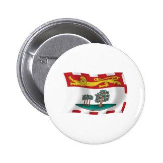 Prince Edward Island Flag Button