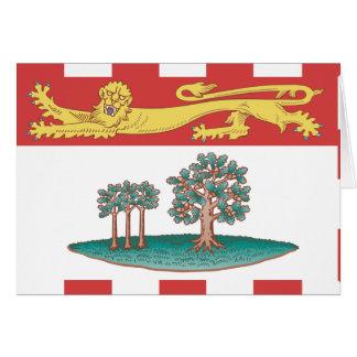 Prince Edward Island flag Greeting Cards