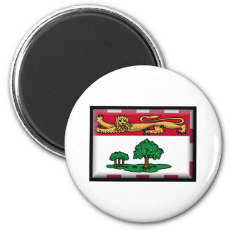 Prince Edward Island Flag Refrigerator Magnets