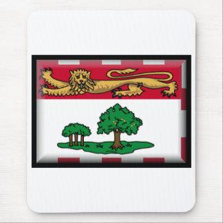 Prince Edward Island Flag Mouse Pad