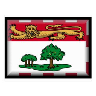 Prince Edward Island Flag Postcard