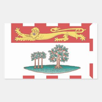 Prince Edward Island Flag Rectangular Sticker