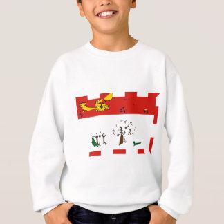prince-edward-island-Flag Sweatshirt