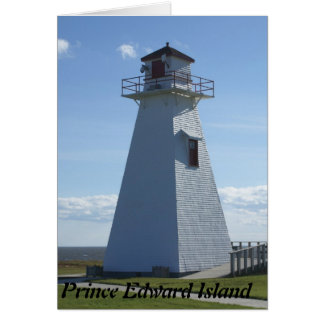 Prince Edward Island-Lighthouse Greeting Card