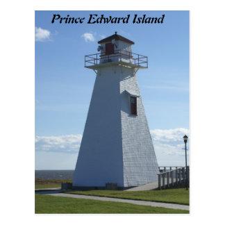 Prince Edward Island-Lighthouse Post Card
