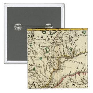 Prince Edward Island, New Brunswick Pinback Buttons