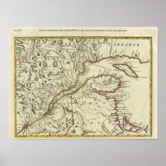 Prince Edward Island, New Brunswick Poster