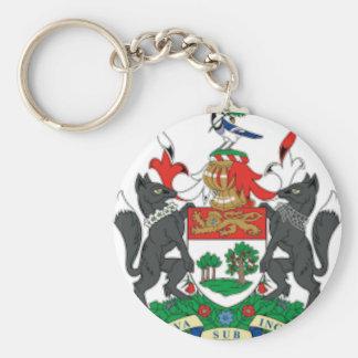 Prince Edward Islands (Canada) Coat of Arms Key Chain