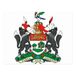 Prince Edward Islands (Canada) Coat of Arms Postcard