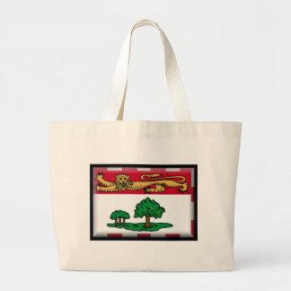Prince Edward Islands (Canada) Flag Canvas Bag