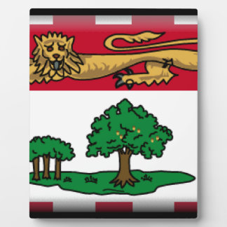 Prince Edward Islands (Canada) Flag Plaque