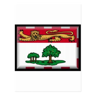 Prince Edward Islands (Canada) Flag Postcard