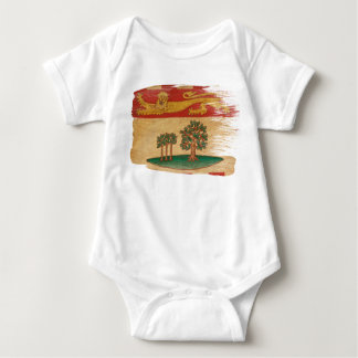 Prince Edward Islands Flag Baby Bodysuit