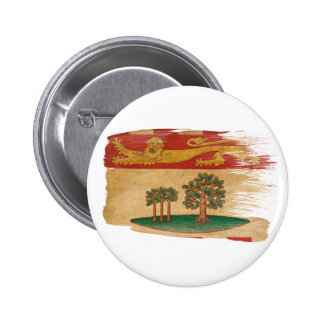 Prince Edward Islands Flag Pinback Button