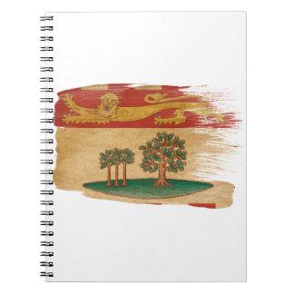 Prince Edward Islands Flag Notebook