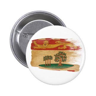 Prince Edward Islands Flag Pinback Button
