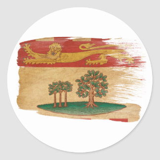 Prince Edward Islands Flag Round Sticker