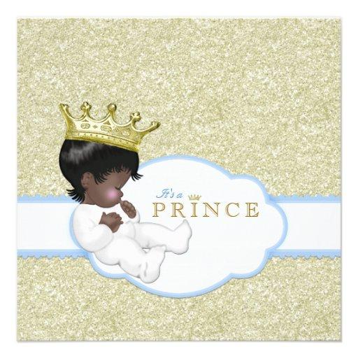Prince Ethnic Baby Shower Invitation