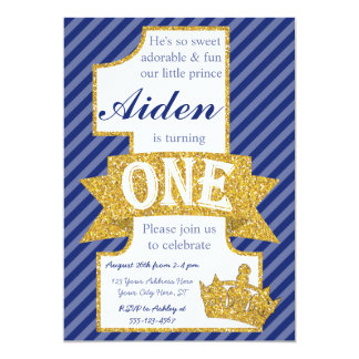 Little Prince First Birthday Invitations All The Best Invitation
