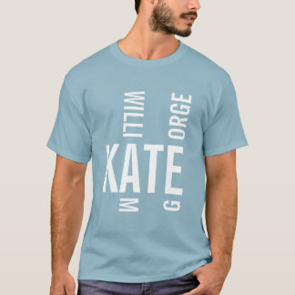 Prince George Kate & William T-Shirt